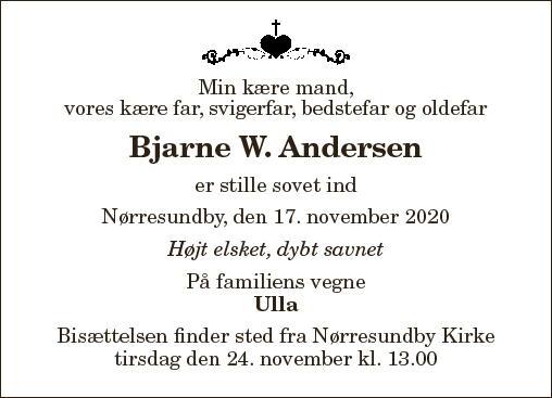 Bjarne W. Andersen
