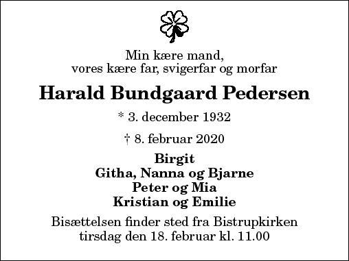 Harald Bundgaard Pedersen