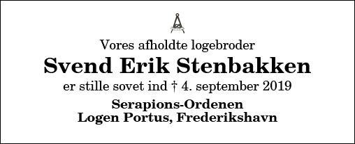Svend Erik Stenbakken
