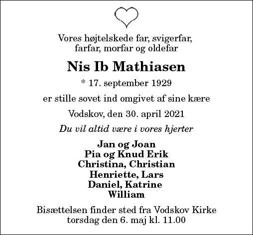 Nis Ib Mathiasen