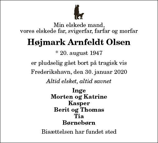 Højmark Arnfeldt Olsen