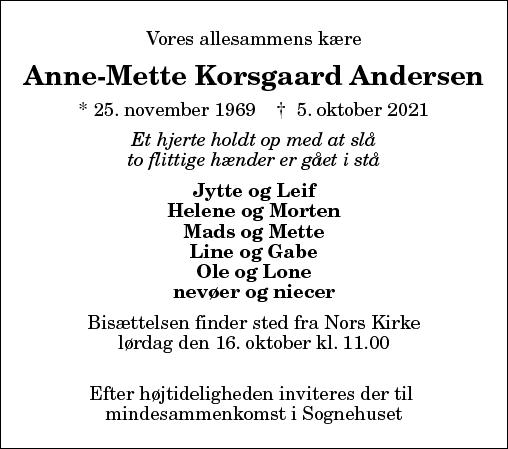 Anne-Mette Korsgaard Andersen