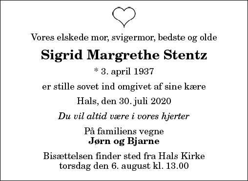 Sigrid Margrethe Stenz