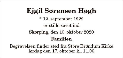 Ejgil Sørensen Høgh