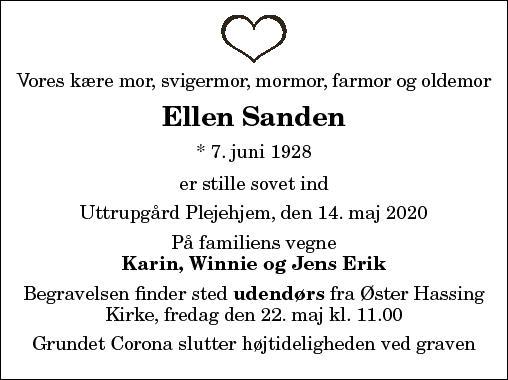 Ellen Sanden