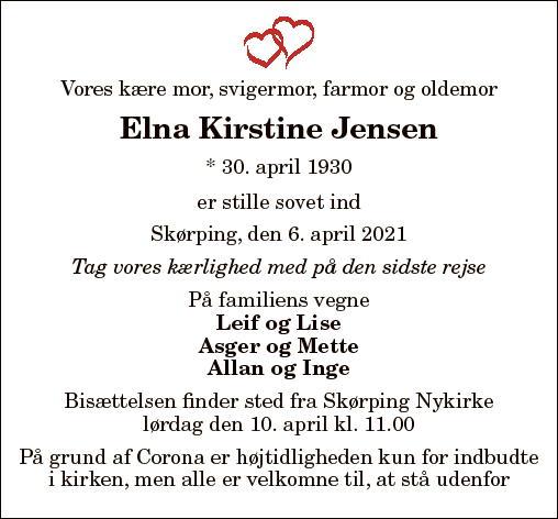 Elna Kirstine Jensen