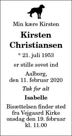 Kirsten Christiansen