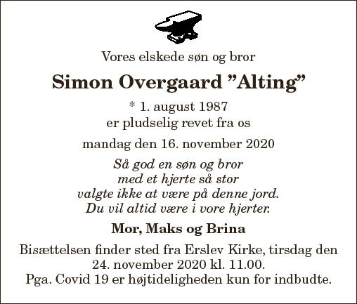 Simon Overgaard ¿Alting¿