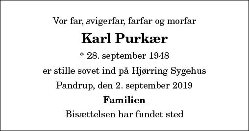 Karl Purkær