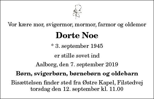 Dorte Noe