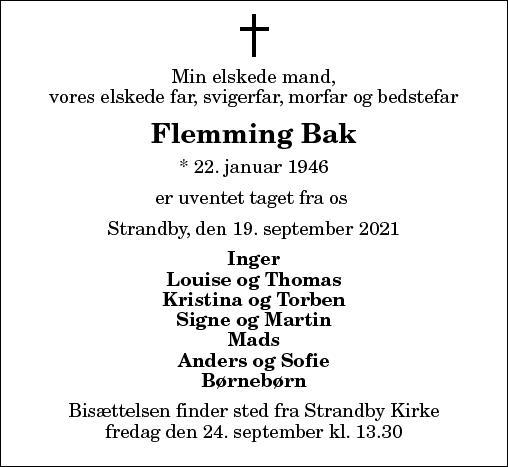Flemming Bak