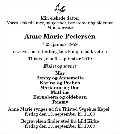 Gerda Anna Marie Pedersen