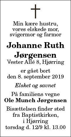 Johanne RuthJørgensen