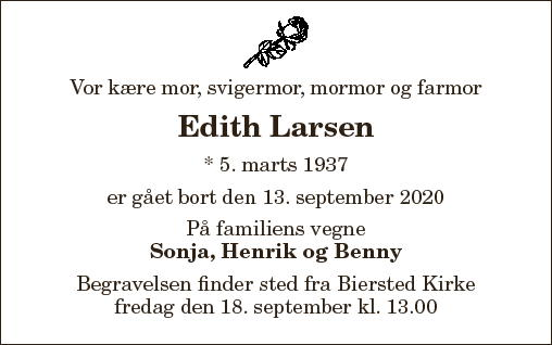 Edith Larsen