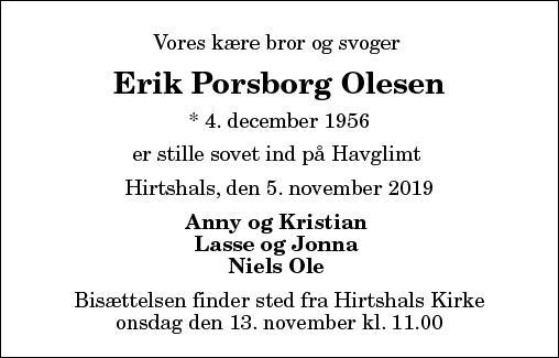 Erik Porsborg Olesen
