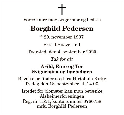 Borghild Pedersen