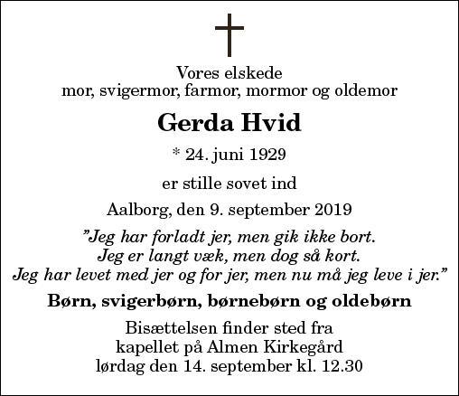 Gerda Hvid
