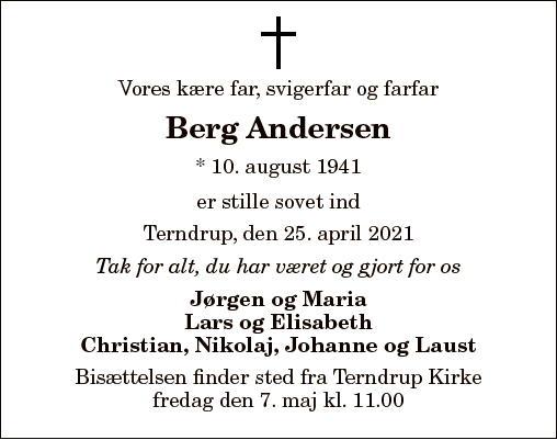 Berg Andersen