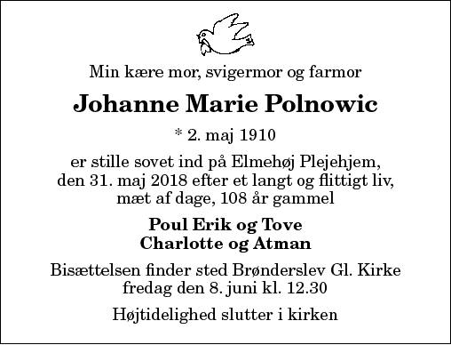 Johanne Marie Polnowic
