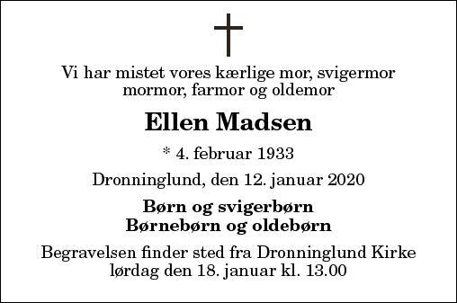 Ellen Madsen