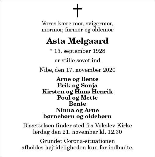 Asta Melgaard