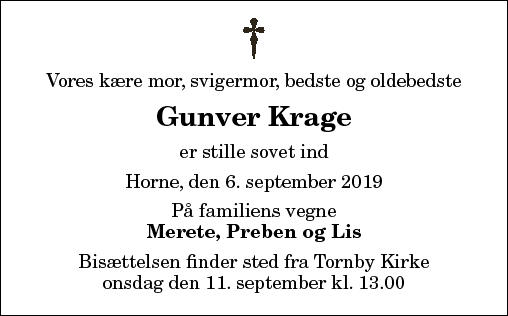 Gunver Krage