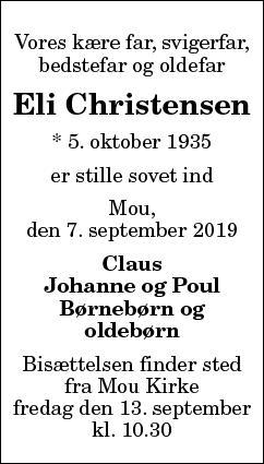 Eli Christensen