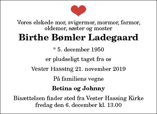 Birthe B. Ladegaard