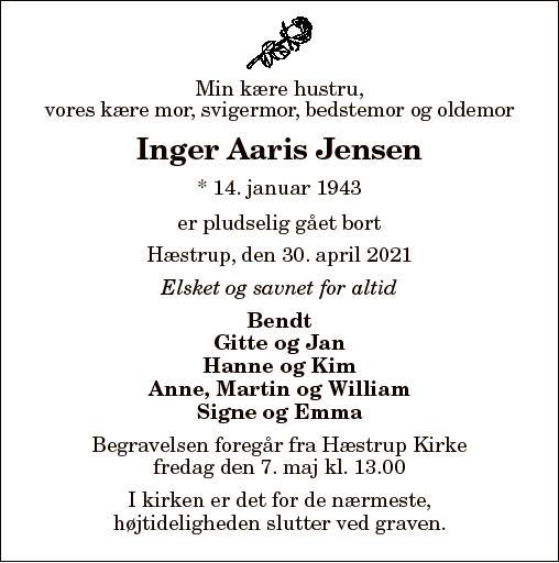 Inger Aaris Jensen