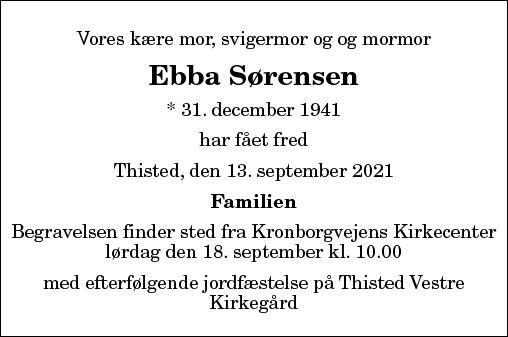 Ebba Elise Sørensen