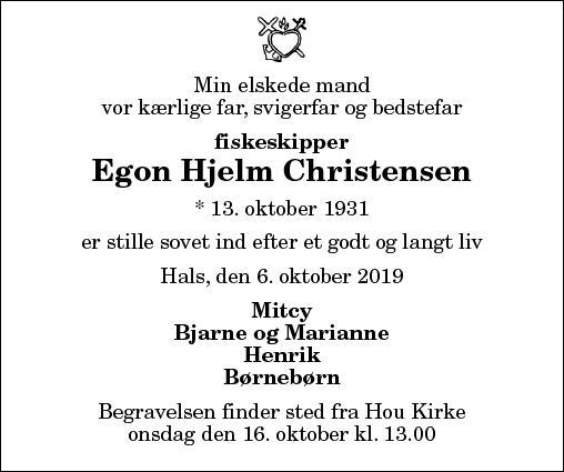 Egon Hjelm Christensen