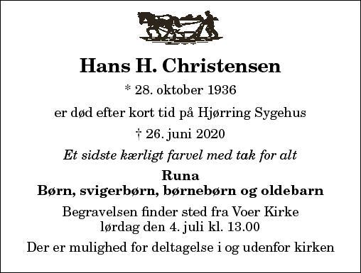 Hans H. Christensen