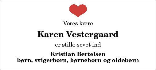 Karen Vestergaard