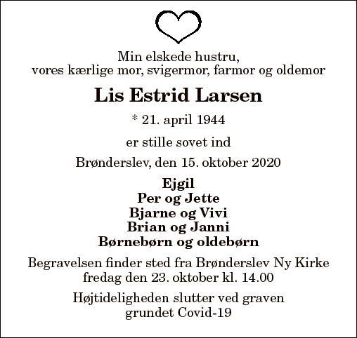Lis Estrid Larsen