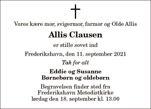 Allis Clausen